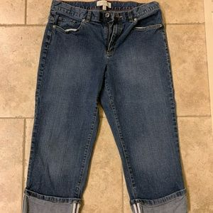 Talbots cropped jeans
